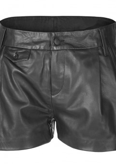 Men's Leather Shorts