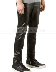5-Pocket-Straight-Leather-trousers-side
