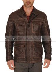 Allotropic-Men-Antiuqe-Leather-Jacket-Front-Close