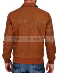 Bendera-Cognac-Cuir-Soft-Leather-Jacket-Back