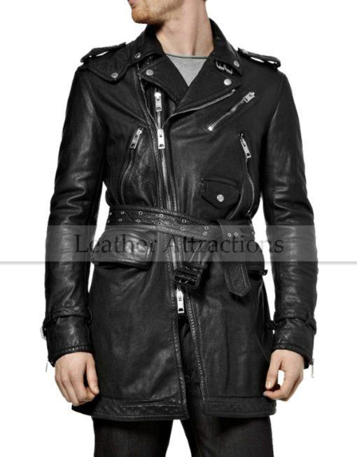 Biker-Leather-trench-Coat-men-front