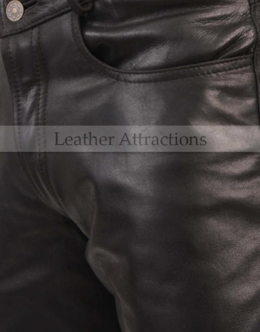 Boot-Cut-Style-Leather-Pants-front