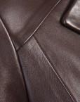 Chic Ladies Leather Jacket Collar