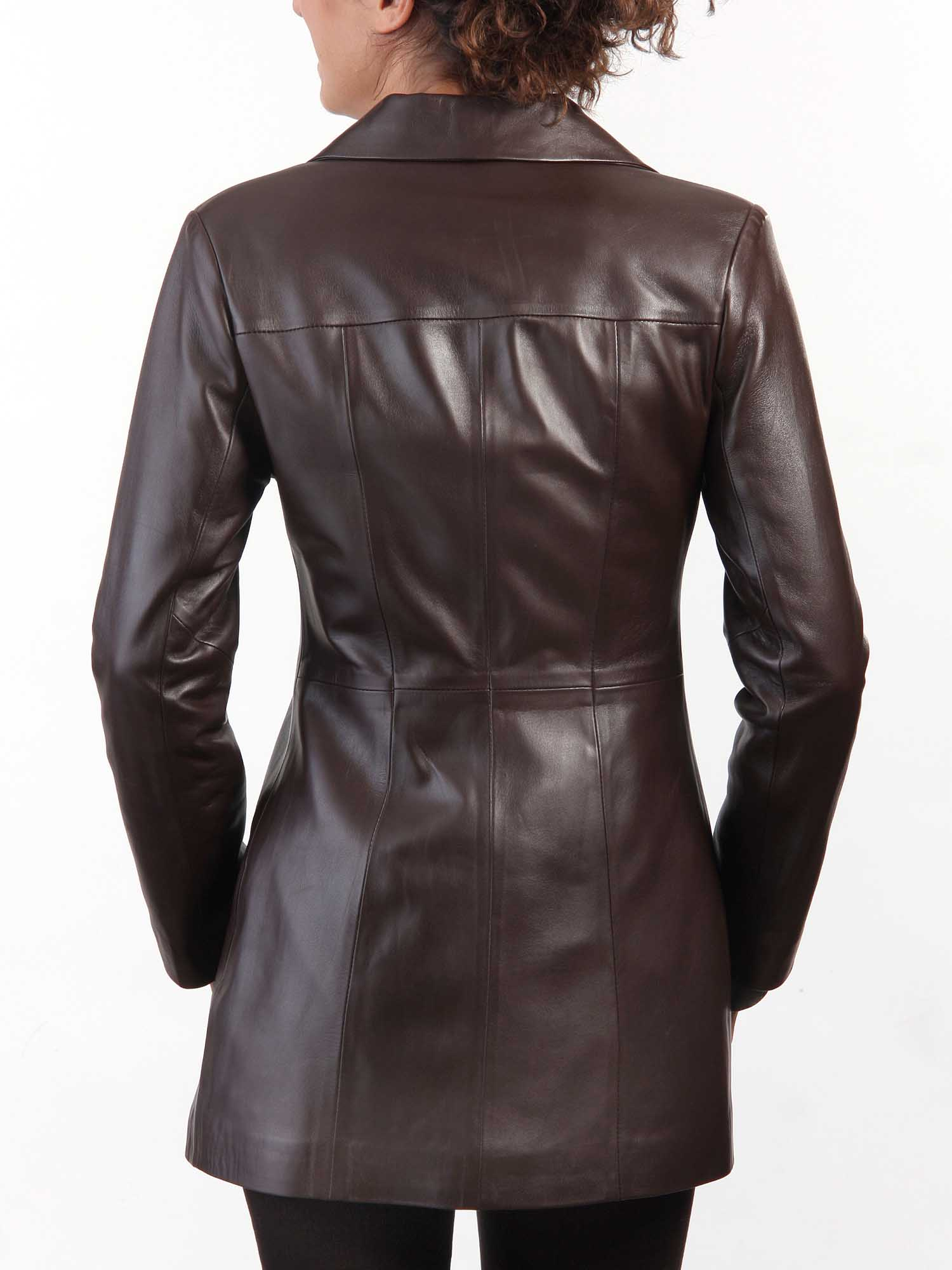 Chic Ladies Leather jacket