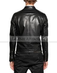 City-Style-Men-Moto-Biker-Jacket-back-Black