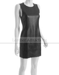 Crew-neck-leather-dress1