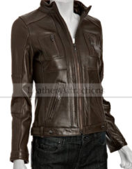 Daiana-Four-Pocket-Brown-Ladies-Jacket-open.jpeg
