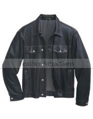 Denim-Style-Men-Mid-Night-leather-JAcket