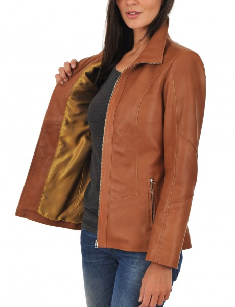 Euro Ladies Leather jacket inner