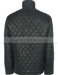 Full-Quilted-Men-Leather-Jacket-Black-Back