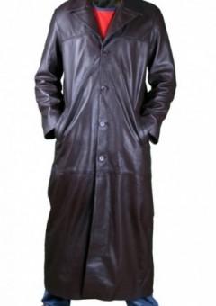Gent Matrix Style Leather Coat