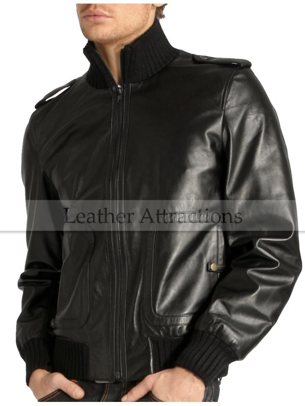 Gents Bomber style Biker jacket