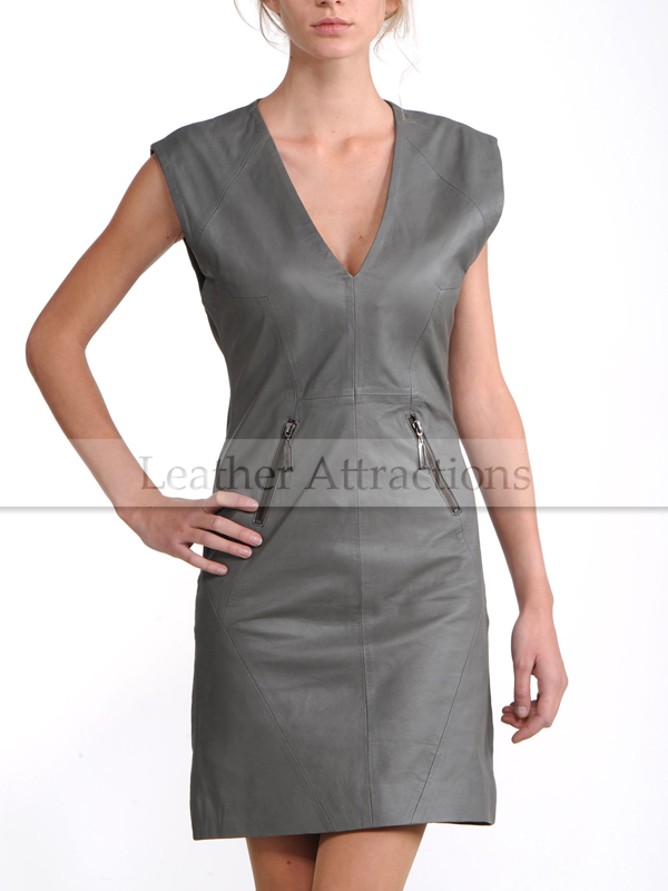 a2bef6a85f5 Georgeous-Lady-Grey-leather-Dress-Front-1.jpg
