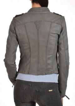 Grey ladies jacket Back