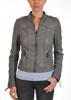 Grey ladies jacket Front