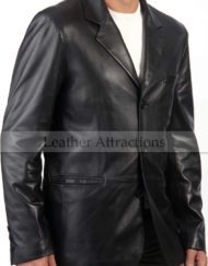Italian-Leather-Blazer-front-close