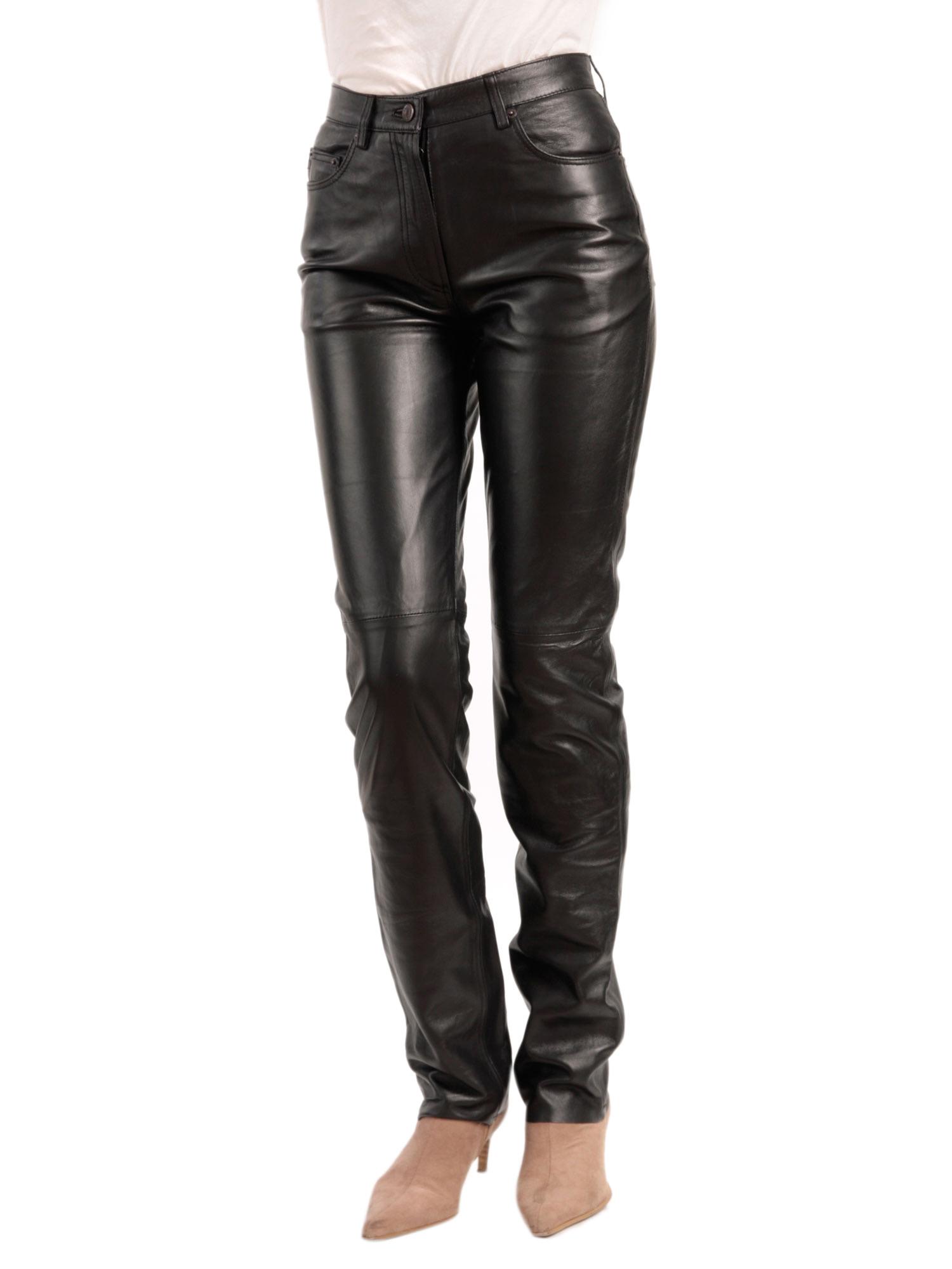 Women Leather Pants 78