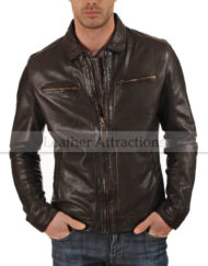 Men-Allotropic-Leather-brown-jacket-front