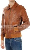 Men-B-2-Bomber-mens-Leather-Jacket-Side