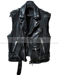 Men-Biker-Zipper-Leather-Vest-Front