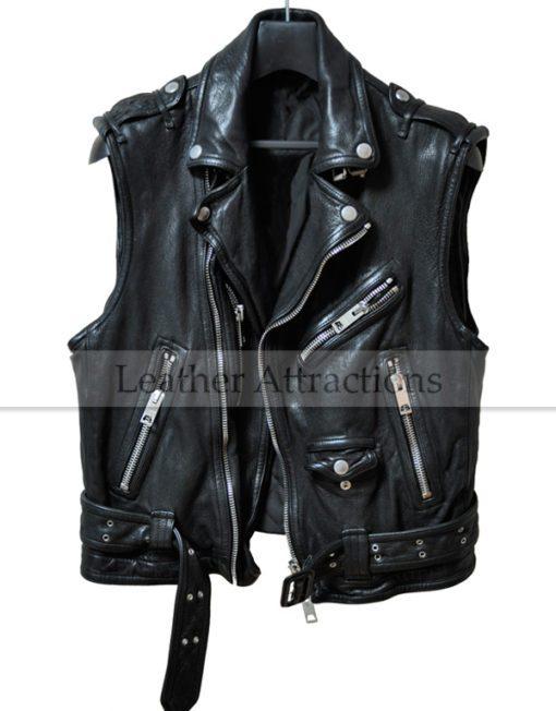 Men-Biker-Zipper-Leather-Vest-Front
