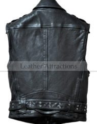 Men-Biker-Zipper-Leather-Vest-back