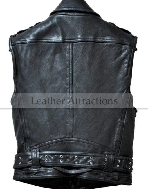 Men-Biker-Zipper-Leather-Vest-back