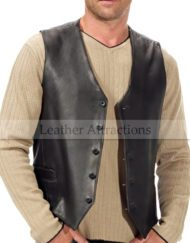 Men-Classic-Cow-leather-Vest