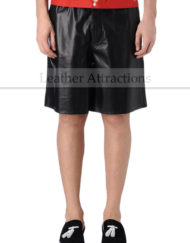 Men-Outwear-Leather-Bermuda-Shorts-small-front