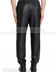 Men-Soft-Lambskin-Leather-Sweat-Track-Pants-back