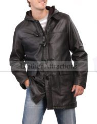 Metro-Hooded-Cow-Leather-Coat-front-close