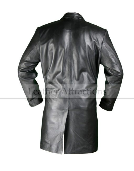 Designers men leather coat