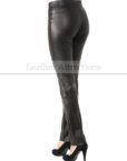 Milan-Ladies-Leather-Pants-Back-Left