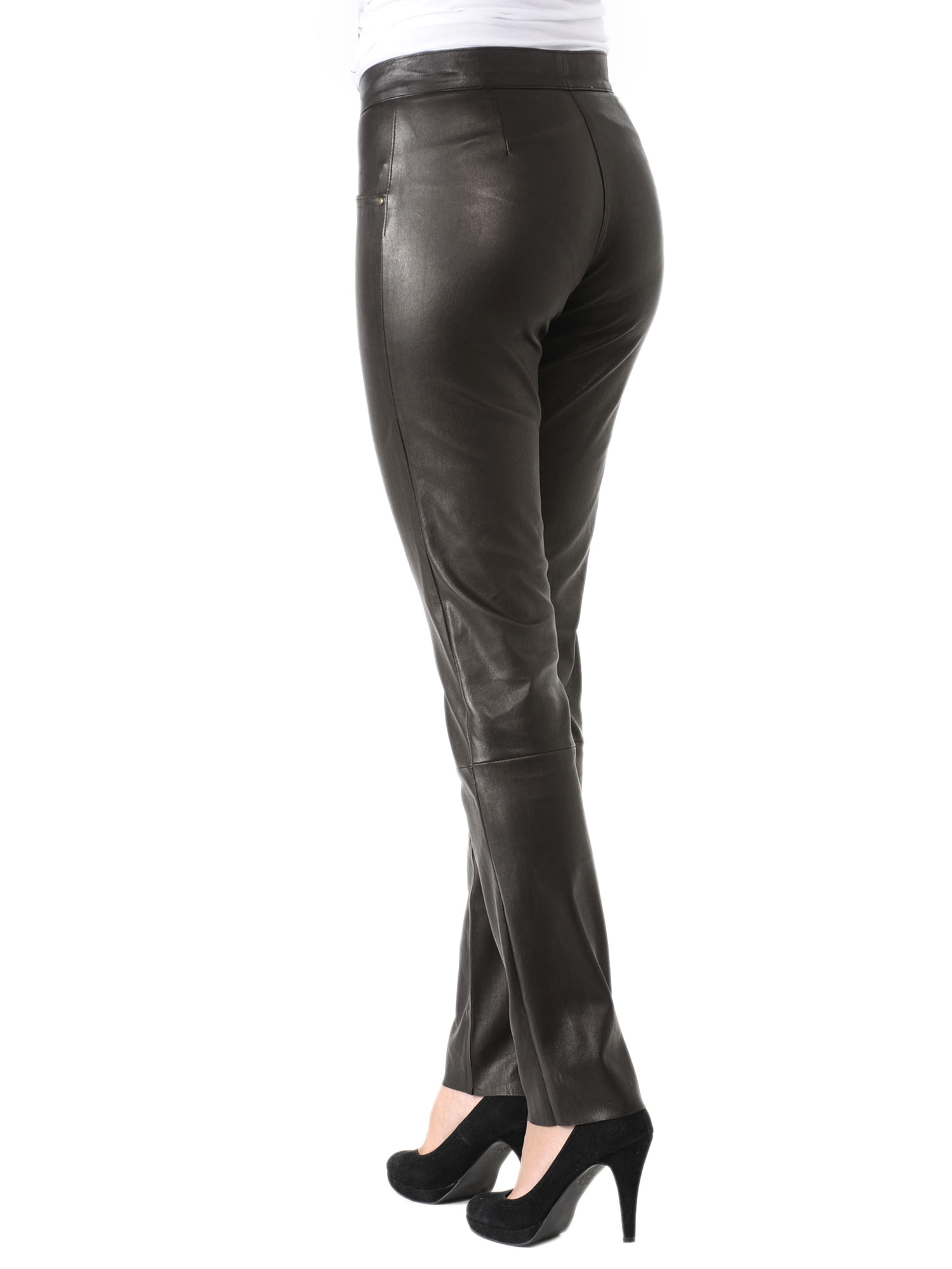 Perfect Alfa Img  Showing Gt Ladies Black Leather Pant