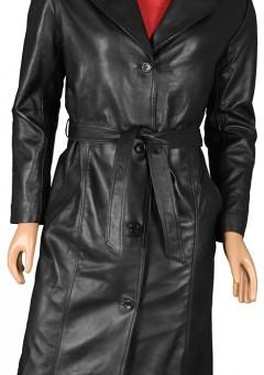 Women Long Leather Coats
