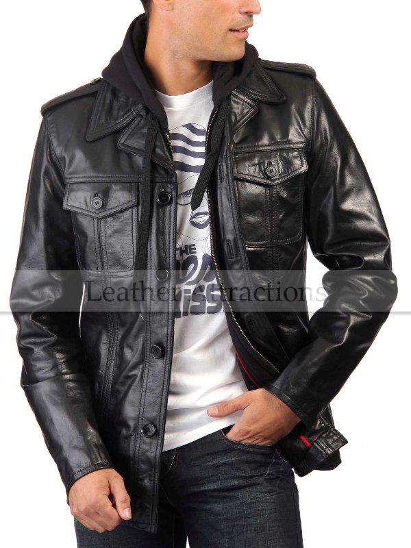 Roma Men Leather Jacket