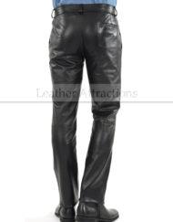 Side-Pockets-leather-Pants-back-1