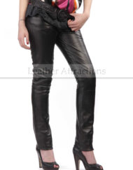 Slim-Fit-Leather-Pants-main-Front