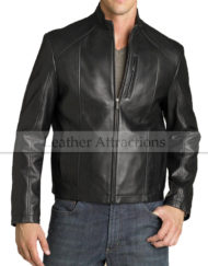 Stand-Collar-Black-motorcycle-jacket1