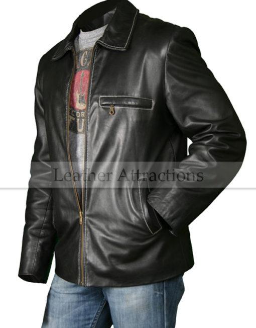 Straight-Bottom-Leather-Jacket-Left