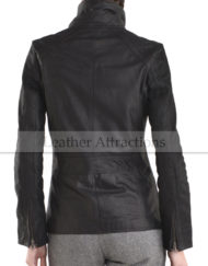 Strap-Collar-Ladies-Jacket-Back