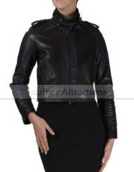 Street-Versatile-women-2-tone-leather-jacket