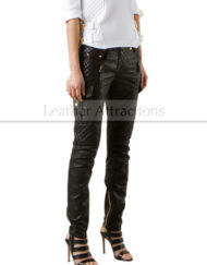 Trendy-Biker-Leather-Pants-Side-Front