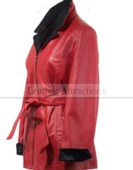 Two-Tone-Soft-Women-Leather-Coat-Black-Red