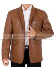 Best Blazer Leather Jacket