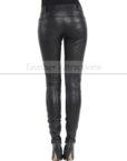 Vogue-Women-Leather-Pantalon-Back