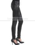 Vogue-Women-Leather-Pantalon-Side