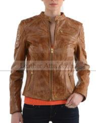 Women-Adorable-Biker-Leather-jacket-6
