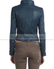 Women-Briker-Torquise-Leather-Jacket-Back