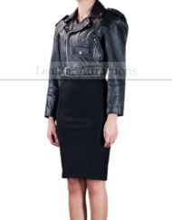 Women-Mini-Leather-Jacket-standing-side-Front-small